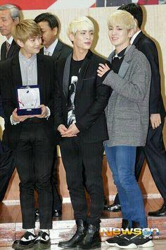 OnJongKey SHINee - The light hair trio.