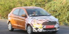 New Ford Figo India Launch In September; Spotted Testing http://www.carblogindia.com/ford-ka-new-ford-figo-hatchback-in-india-for-testing/