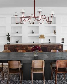 modern rustic w/ a subtle air of sophistication by; designer Jane Hallworth  .... via; Obsolete Inc (@obsoleteinc)