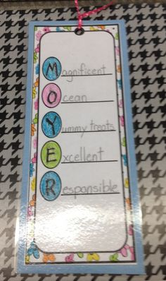 name bookmark