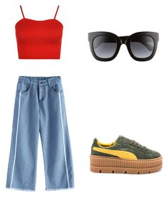 """""""Untitled #11"""" by daria-maria-17 on Polyvore featuring WearAll, Puma and Gucci"""