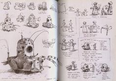 shaun tan sketchbook - Google Search