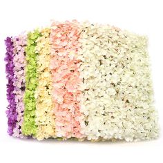 Package Included: 1 X DIY Hydrangea Carpet Type Specification: Name: Carpet type Hydrangea Mat