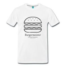 Burgermeister Grillshirt T-Shirt   Carnivore Connaisseur Grill & Barbecue Shirts