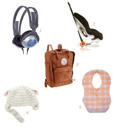 10 fav travel gear items for kids.  the carseat cart! that backpack! the portable high chair!