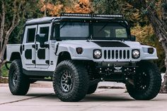 Mil-Spec Automotive has struck again, this time delivering a Hummer covered in Kevlar and ready for any mission in any terrain. Hummer H3, Hummer Cars, Hummer Truck, Hummer H1 Alpha, Jeep 4x4, Hummer Interior, Armored Vehicles, Army Vehicles, American Motors
