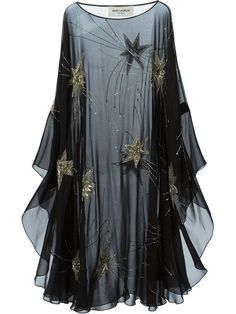 Shop Saint Laurent sheer embroidered dress in Stefania Mode from the world's best independent boutiques at farfetch.com. Over 1000 designers from 300 boutiques in one website.