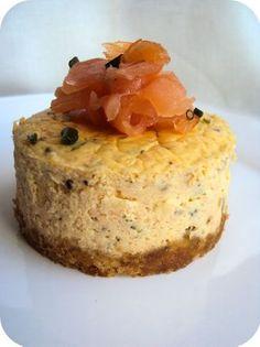 cheese cake au saumon