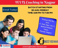 Crack #IELTS test with flying scores. Batch starting from 22 August 2016. Enroll Now, Call: 9822102444