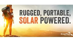 EnerPlex's New Portable Solar Power Solutions will be showcased at CES 2015