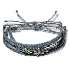 Shades of Grey Set  - Weltfreund Armbänder