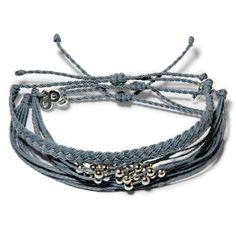 Shades of Grey Set  - Weltfreund Armbänder
