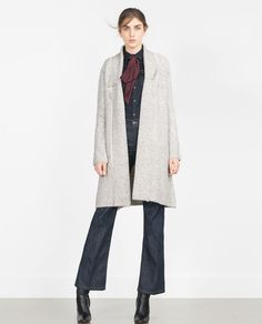 LONG SLEEVE COAT-Coats-Outerwear-WOMAN | ZARA United States