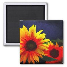 Sunflowers on blue background painting. This is a painting of a still life photo I took. Great for home or office decor. Also a great gift idea for holidays, birthdays, anniversary, and house warming.
