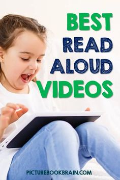 Check out the best picture book read aloud videos sites and Youtube channels. Video read alouds from publishers and actors as well as astronauts! Spanish read aloud videos for bilingual students as well! A list of the best sources for where to watch video read alouds for Kindergarten, first, second, third, fourth or fifth grade students. Great ideas for teachers in many of the videos as well!