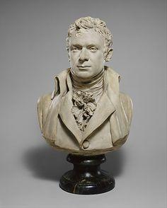 Robert Fulton (1765-1815). Jean-Antoine Houdon (French, Versailles 1741–1828 Paris). Date: 1803–4. Culture: French (Paris). Medium: Painted plaster.