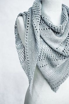 Ravelry: Ardent shawl with Kettle Yarn Co. ISLINGTON - knitting pattern by Janina Kallio. $6.50 euros pattern