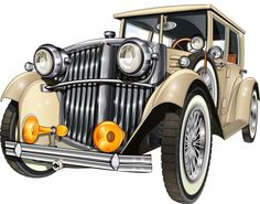 """Photo from album """"Машины"""" on Yandex. Retro Cars, Vintage Cars, Antique Cars, Chevy, Best Rv Parks, Camping Resort, Class A Motorhomes, Images Vintage, Lego Modular"""