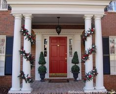 Make Your Own Pottery Barn Knock-off Garland