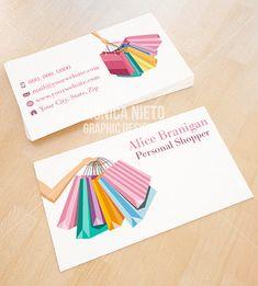 Custom Premade Personal Shopper Business Card