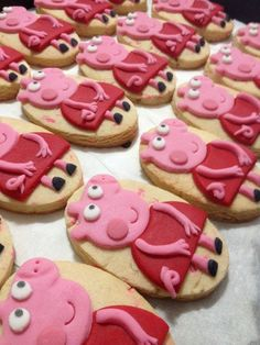 Cookies tema Peppa Pig