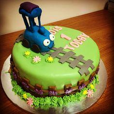 Tricky Tracks cake Kokos Cupcakes, Creative Cakes, Birthday Cake, Desserts, Food, Design, Tailgate Desserts, Deserts, Birthday Cakes