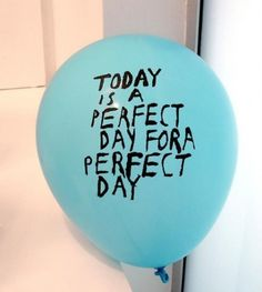 I just wish I could go around and hand these to people who would love receiving a random balloon today :))