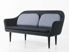 Upholstered 2 seater fabric sofa Lunar Collection by STELLAR WORKS | design Space