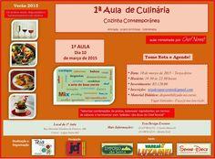 Teia Design: Aula de Culinária - Teia Design Eventos organiza e...
