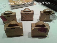 Die Stempelbox... kreative Ideen: Ich packe meinen Koffer...