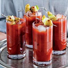 Smokin' Good Bloody Mary: Take the edge off a noon kickoff with this Bloody Mary mix. Bonus: It can be made ahead and stored in the fridge. #tailgating