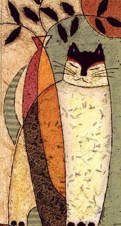 art Cat, by Penny Feder