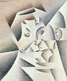 Juan Gris, Portrait of Pablo Picasso 1912 Portraits Cubistes, Cubist Portraits, Spanish Painters, Spanish Artists, Pablo Picasso, Canvas Art, Canvas Prints, Art Prints, Modern Art