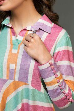 Sleeve Designs, Kurti, Sleeves, Sweaters, Tops, Women, Fashion, Moda, Fashion Styles