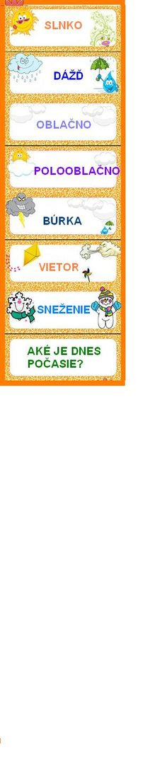 počasie Preschool Education, Preschool Activities, Weather For Kids, School Decorations, Science Experiments, Primary School, In Kindergarten, Games For Kids, Kids And Parenting