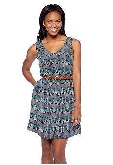 As U Wish Gauze Ruffle Dress #belk #Jrs | Young Contemporary ...