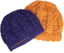 Crochet paso a paso: boina caída o floja