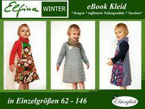 eBook ELFINA WINTER Schnittmuster Mädchen Kleid