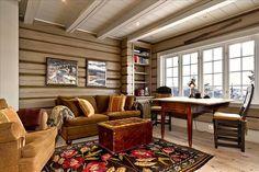 FINN Eiendom - Fritidsbolig til salgs Sofa, Couch, Real Estate, Cabin, Curtains, Furniture, Home Decor, Mountain, Christmas