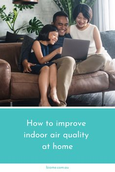 Biome Blog: How to improve indoor air quality at home  Most of us spend a considerable amount of time inside our homes, so it's important to keep the indoor air as clean as possible, especially during winter when we're likely to keep our windows and doors shut to seal out the cold. According to the US Environmental Protection Agency, indoor air quality can be twice as polluted as outside air, but it doesn't have to be. Here are some quick and easy ways you can improve indoor air quality at… Green Cleaning Recipes, Oxygen Bleach, Natural Air Freshener, Shower Filter, Clean Sweep, Have A Shower, Biomes, Natural Deodorant, Air Pollution