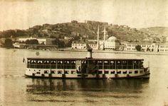 Haliç Vapuru ve Halıcıoğlu Kıyıları
