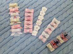Lacinho de cabelo de cola para recém nascido. Bow Hair accessory for little girls.