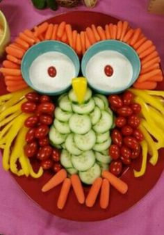 Vegetable owl- pin if you thought of Annabeth