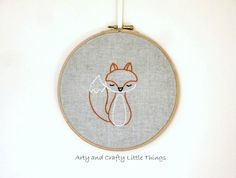 Mr Fox - 26 Fun and Free Embroidery Patterns