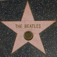The Beatles -  Walk of Fame Star -    Los Angeles Historic-Cultural Monument No. 194, the Hollywood Walk of Fame.