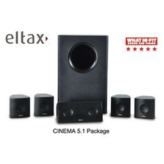 Eltax - 5.1 Speaker Package FEATURES  • High performance speaker system • Slim design - fit in everywhere • Sound with detailed and clear dialogue • Powerful subwoofer for complete home cinema experience • Easy Installation