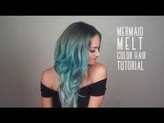 Mermaid Melt Hair Tutorial with @Charity.Grace