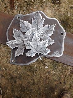 Maple Leaf Plaque / Artfully Crooked