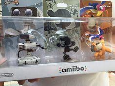 Amiibo retro pack