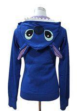 Japan Anime Disney Stitch Zip UP Hoodies Jacket Coat Sweatshirt Animal Costume on Wanelo Disney Stitch, Lilo And Stitch, Sweat Shirt, Zip Hoodies, Estilo Geek, Stitch Ears, Stitch Hoodie, Pikachu, Pokemon